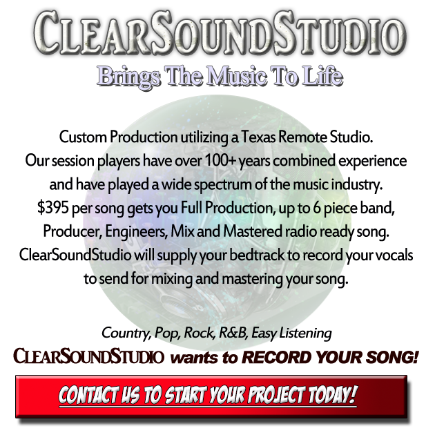 Work with top producers & session musicians